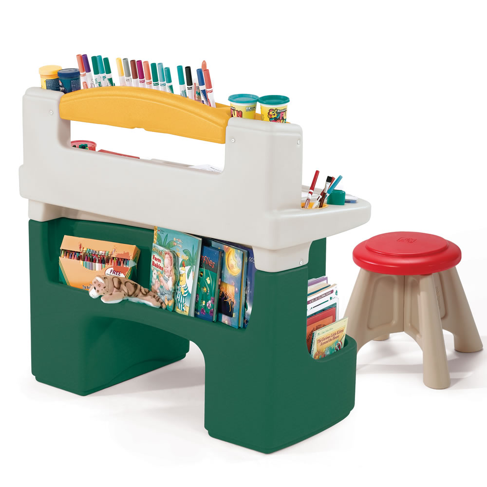 Art desk comes with a stool