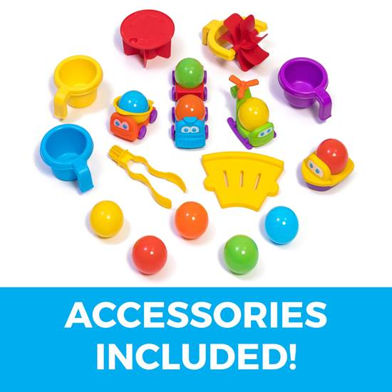 accessories included in step2 Ball Buddies Adventure Center