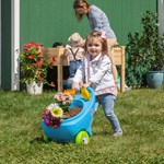 step2 Springtime Wheelbarrow