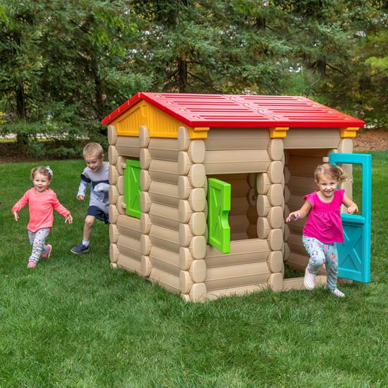 Step2 Big Builder's Playhouse & More 100 PC