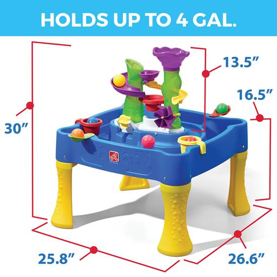 step2 Rise & Fall Water & Ball Table
