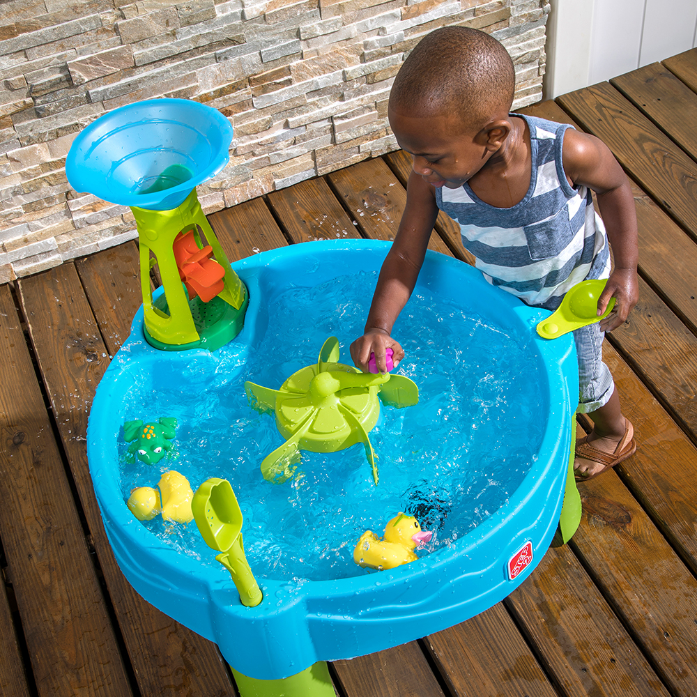 Step2 Duck Dive Water Table water wheel