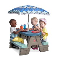 Picnic & Play Table with Umbrella™