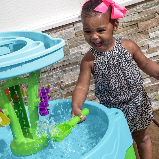 Step2 Spring Time Splash Water Table rain shower