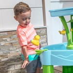 Step2 Spring Time Splash Water Table spring board