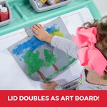 Step2 2-in-1 Toy Box & Art Lid - Mint art clip