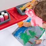 Step2 2-in-1 Toy Box & Art Lid - Red art clip