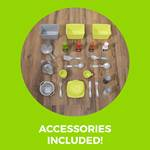 accessories included in step2 downtown delights kitchen