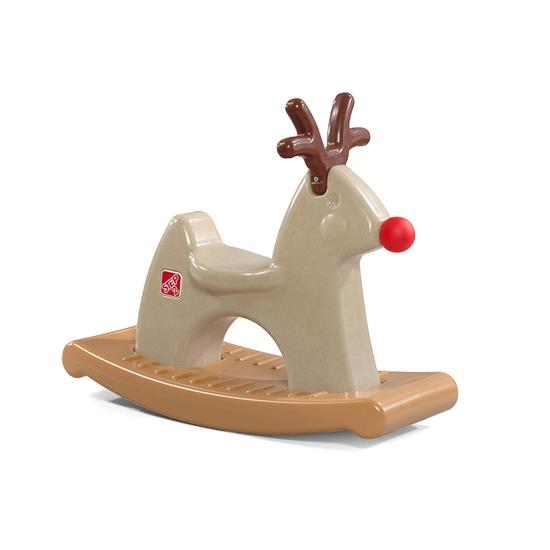 Step2 Rudolph the Rocking Reindeer holiday ride-on toy