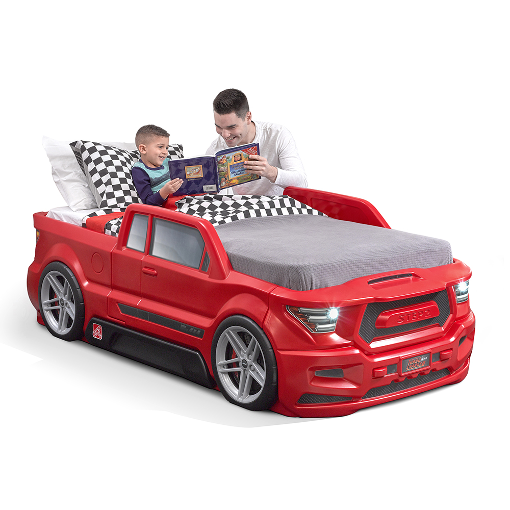 Turbocharged Twin Truck Bed   Kids Bed   Step2