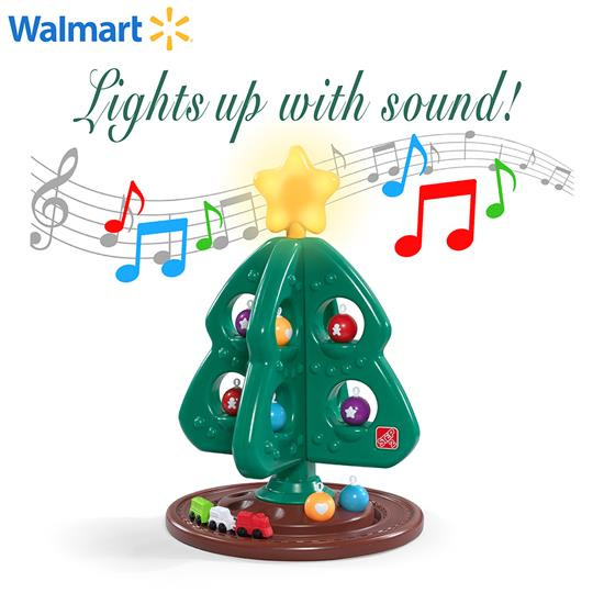 My First Christmas Tree with Lights and Sounds | Kids Pretend Play ...