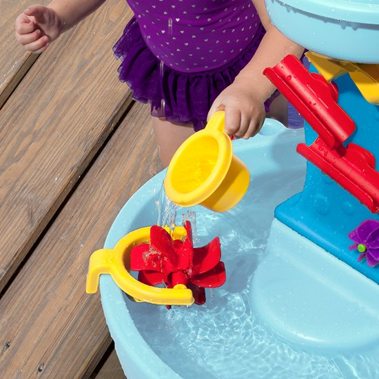 Step2 Sun Showers Water Table water wheel