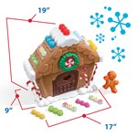 Step2 My First Gingerbread House store parts inside house