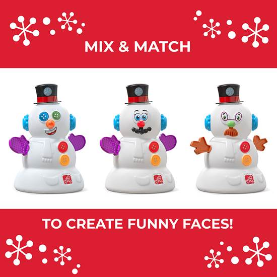 Step2 My First Snowman mix-and-match accessories