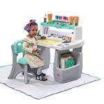 step2 Deluxe Art Master Desk w/Splat Mat