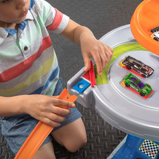 Step2 Hot Wheels Extreme Road Rally Raceway removable track