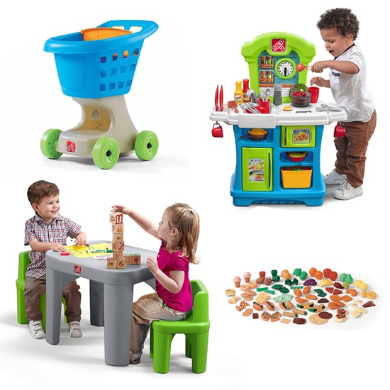 Step2 Mini Chefs Cooking Play Set