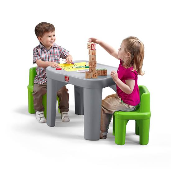 Step2 Mighty My Size Table & Chairs Set