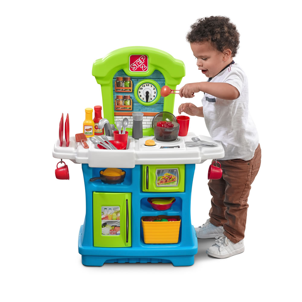 Mini Real Food Kitchen: Mini Chef's Cooking Play Set