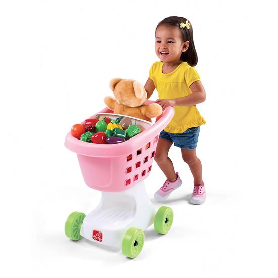 Step2 Little Helper's Shopping Cart - Pink