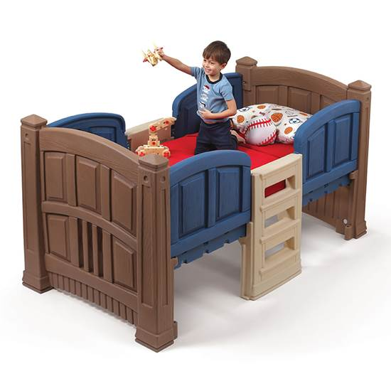 Step2 Boys Loft & Storage Twin Bed