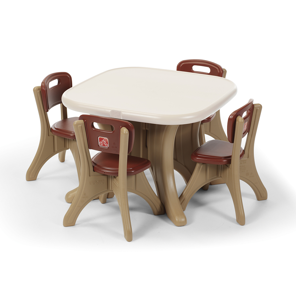 New Traditions Table and Four Chairs Set  sc 1 st  Step2 & Kids Table and Chair Sets and Other Kids Furniture from Step2