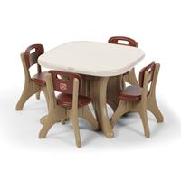 New Traditions Table and Four Chairs Set