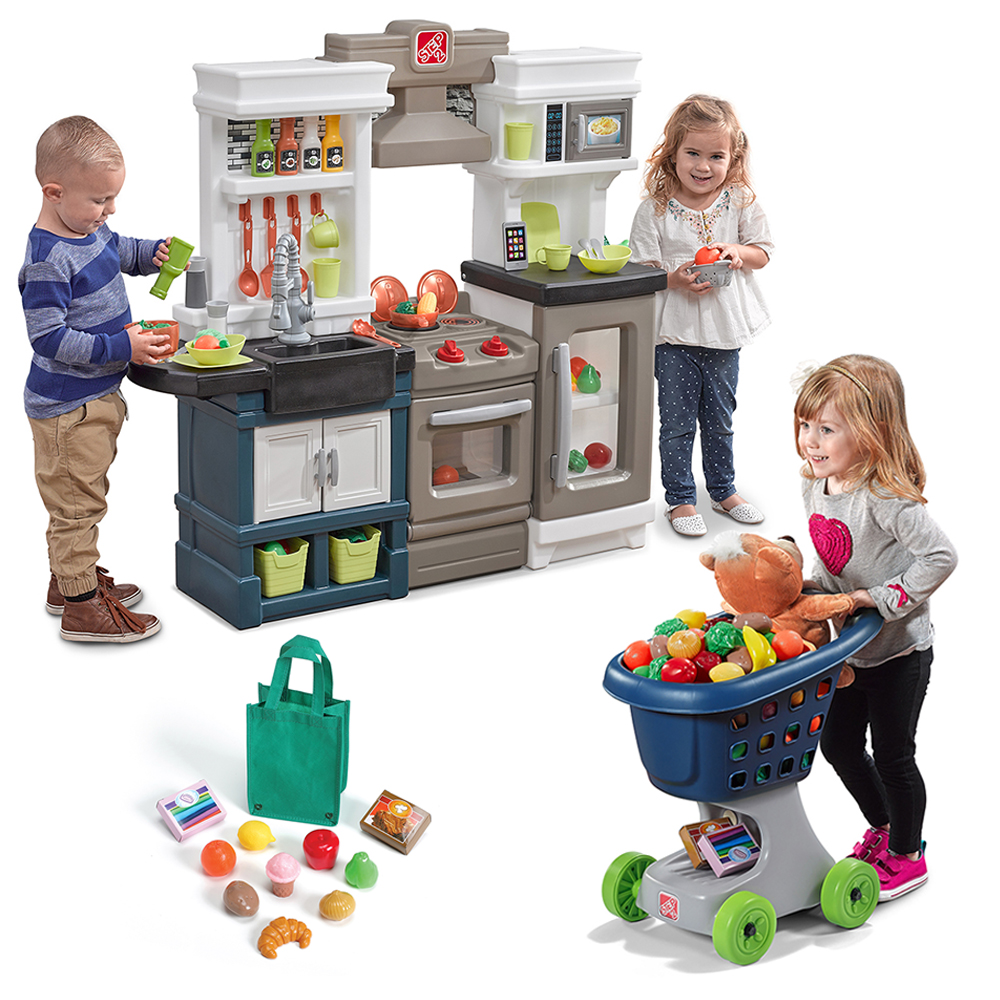 Little Chef S Kitchen Play Set Step2