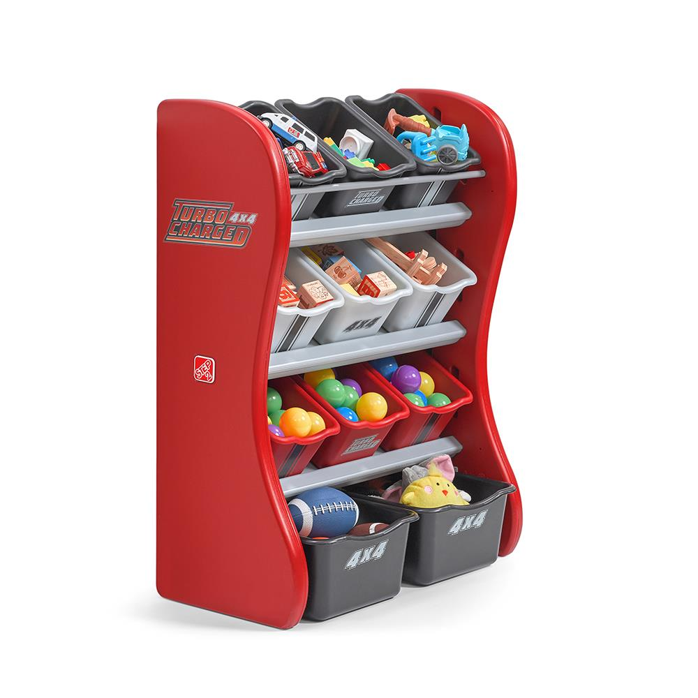Turbocharged Room Organizer Kids Toy Storage Step2