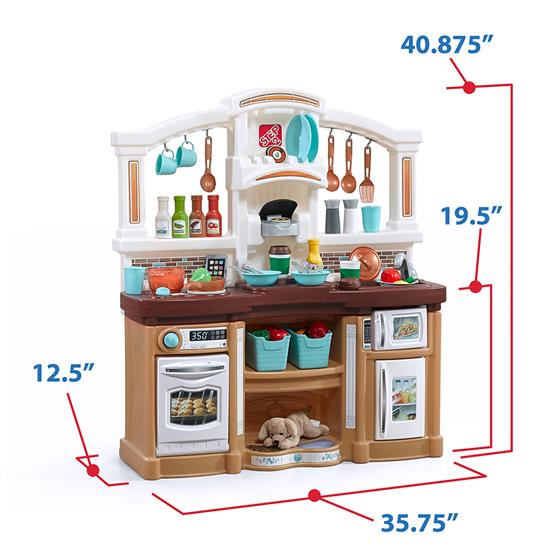 Step2 Fun With Friends Kitchen - Tan storage bin