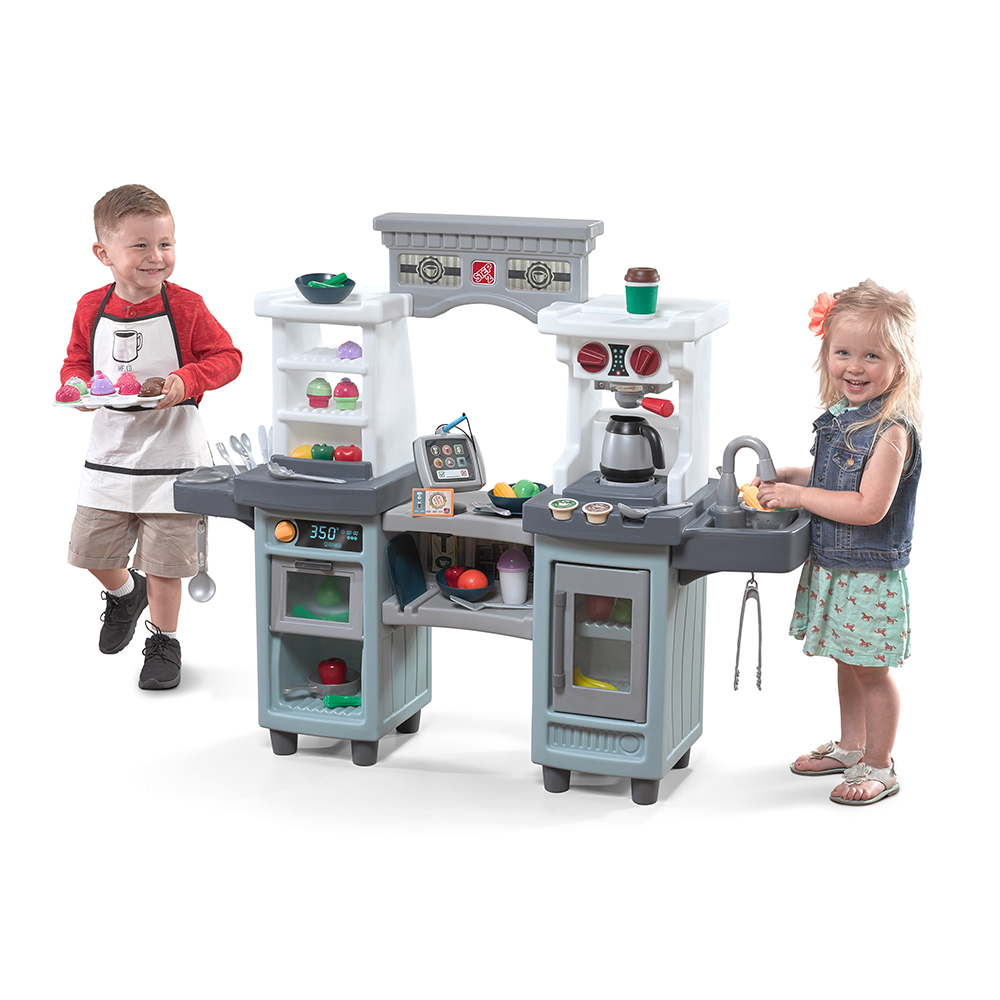 cakes  coffee kitchen and café  kids play kitchen  step2