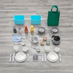 accessories included in step2 great gourmet kitchen pink