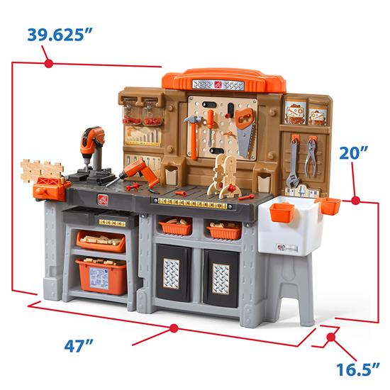 Step2 Pro Play Workshop & Utility Bench toy table saw
