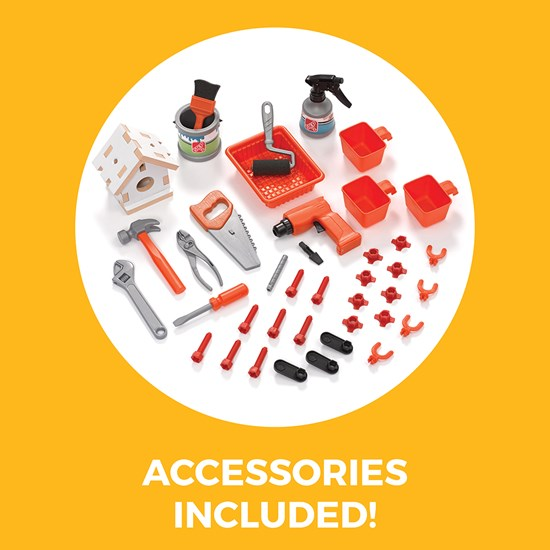 Step2 Big Builders Pro Workshop accessories
