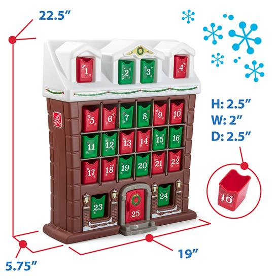Playing with Step2 my first advent calendar