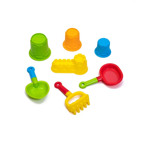 accessories included in Step2 naturally playful sandbox II with bonus sand tools