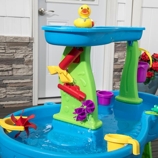 step2 Rainy Day Water Table With Umbrella