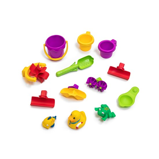 accessories included in step2 shower tower splash pond water table