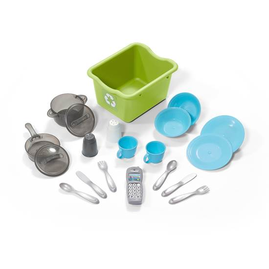 accessories included in step2 Lifestyle Custom Kitchen™-Blue