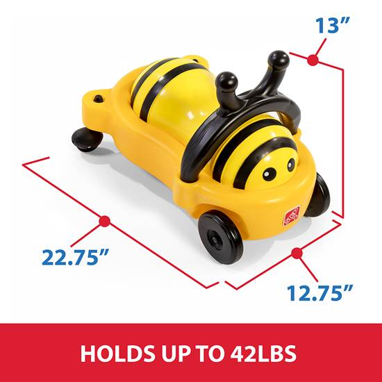 step2 Bouncy Buggy Bumblebee