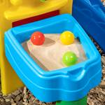 balls included in step2 Play Ball Fun Climber-blue