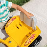 step2 Zip N' Zoom Pedal Car-Yellow