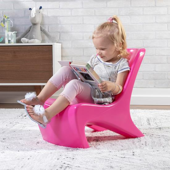 step2 Junior Chic 2-Piece Chair Set-Raspberry