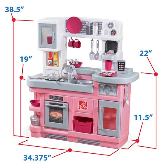step2 Love to Entertain Kitchen-Pink