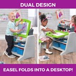 step2 2-In-1 Art Easel & Desk