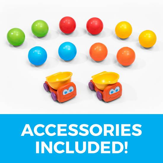 accessories included in step2 Ball Buddies Tunnel Tower