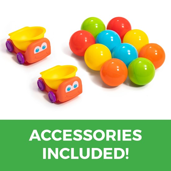 accessories included in Step2 Ball Buddies Double Drop HQ