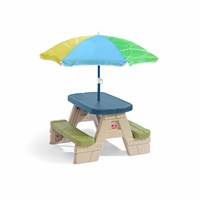 Sit & Play Picnic Table with Seaside Umbrella™