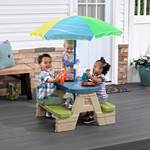 step2 Sit & Play Picnic Table with Seaside Umbrella