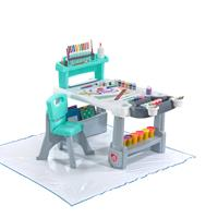 Deluxe Creative Projects Art Desk With Splat Mat™